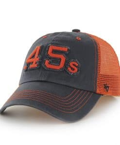 Houston Astros Taylor Closer Navy 47 Brand Stretch Fit Hat