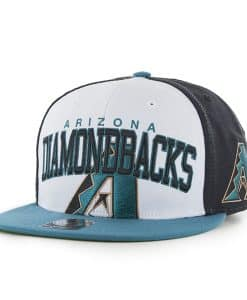 Arizona Diamondbacks Triple Block Black 47 Brand Adjustable Hat