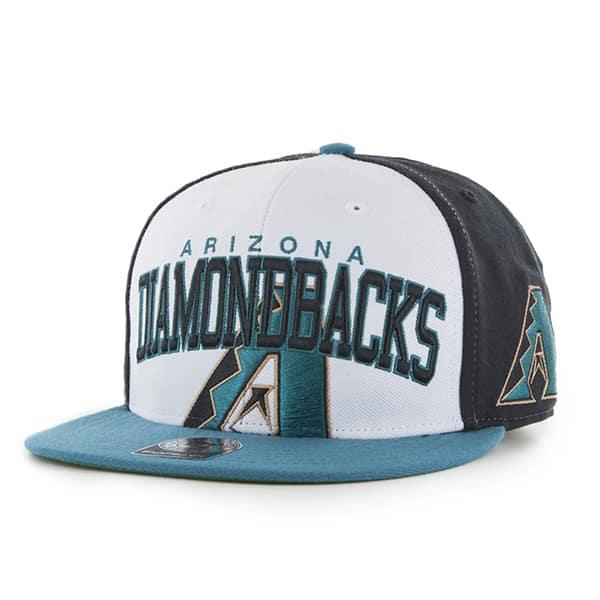 Arizona Diamondbacks Triple Block Black 47 Brand Adjustable Hat
