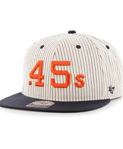 Houston Astros Woodside Captain Navy 47 Brand Adjustable Hat