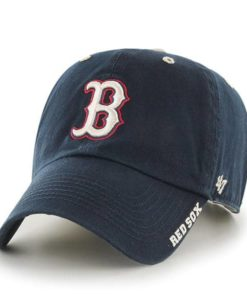 Boston Red Sox 47 Brand Navy Ice Clean Up Adjustable Hat
