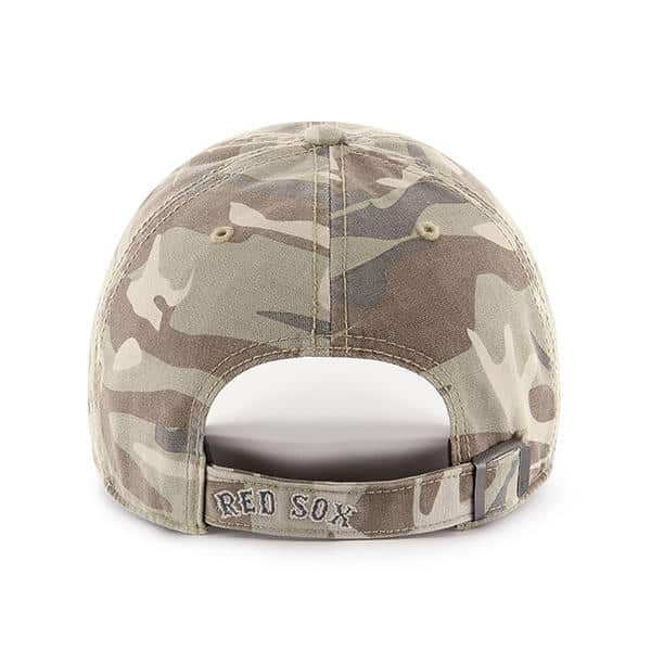 7c099cce30d Boston Red Sox 47 Brand Camo Tarpoon Faded Adjustable Hat - Detroit ...