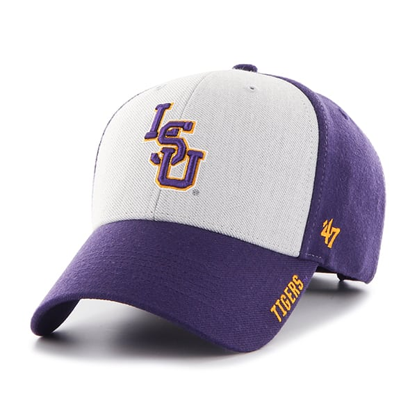 2e6db2c137501f Louisiana State Tigers Lsu Beta MVP Purple 47 Brand Adjustable Hat -  Detroit Game Gear