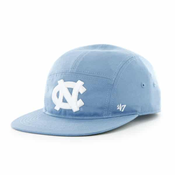 North Carolina Tar Heels Unc Bergen 5 Panel Columbia 47 Brand Adjustable Hat