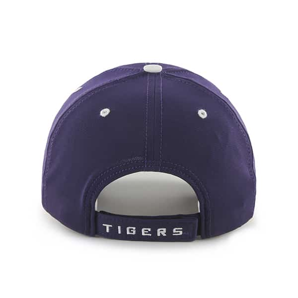 e793716110e2e8 Louisiana State Tigers Lsu Condenser MVP Purple 47 Brand Adjustable Hat -  Detroit Game Gear