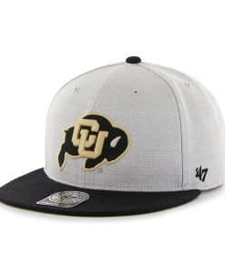 Colorado Buffaloes 47 Brand Catfish Gray Snapback Adjustable Hat