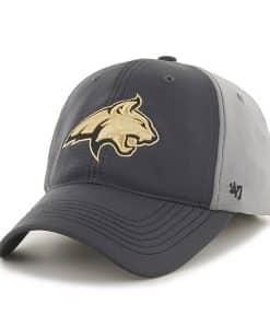 Montana State Bobcats Feldspar Closer Dark Gray 47 Brand Stretch Fit Hat