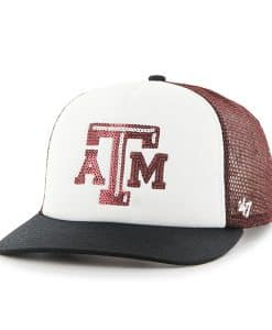 Texas A&M Aggies Women's 47 Brand Glimmer Captain Dark Maroon Hat