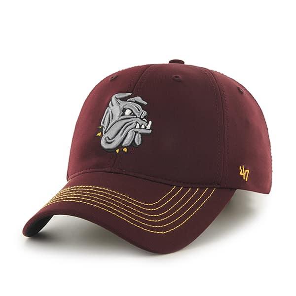 Minnesota Duluth Bulldogs Game Time Closer Dark Maroon 47 Brand Stretch Fit Hat