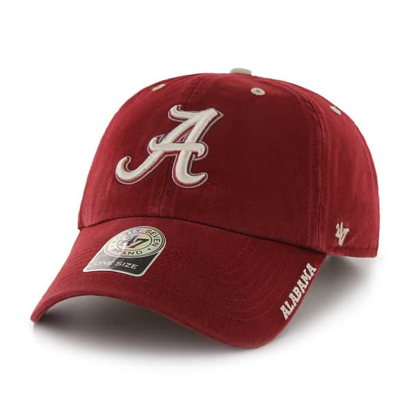 Alabama Crimson Tide Ice Razor Red 47 Brand Adjustable Hat
