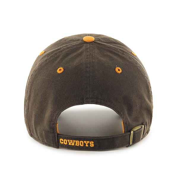 Wyoming Cowboys Ice Brown 47 Brand Adjustable Hat - Detroit Game Gear