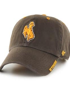 Wyoming Cowboys Ice Brown 47 Brand Adjustable Hat