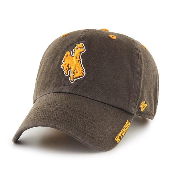 Wyoming Cowboys Ice Brown 47 Brand Adjustable Hat