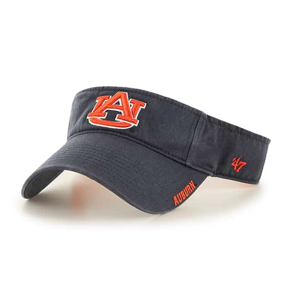 Auburn Tigers Ice Visor Vintage Navy 47 Brand Adjustable Hat