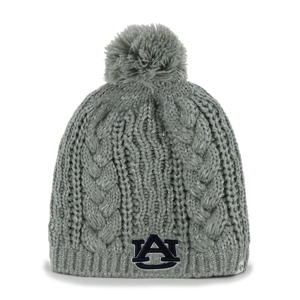 Auburn Tigers Kiowa Knit Gray 47 Brand Womens Hat