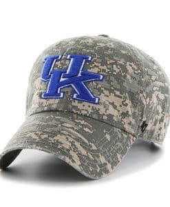 Kentucky Wildcats Officer Digital Camo 47 Brand Adjustable Hat