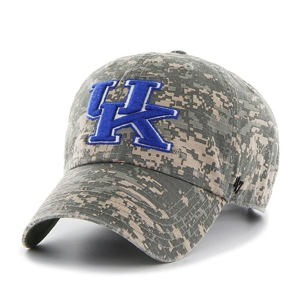 Kentucky Wildcats Officer Digital Camo 47 Brand Adjustable Hat
