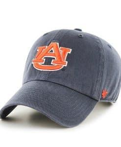 Auburn Tigers Women's 47 Brand Vintage Navy Clean Up Adjustable Hat