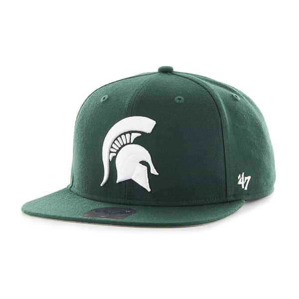 Michigan State Spartans Sure Shot Dark Green 47 Brand Adjustable Hat