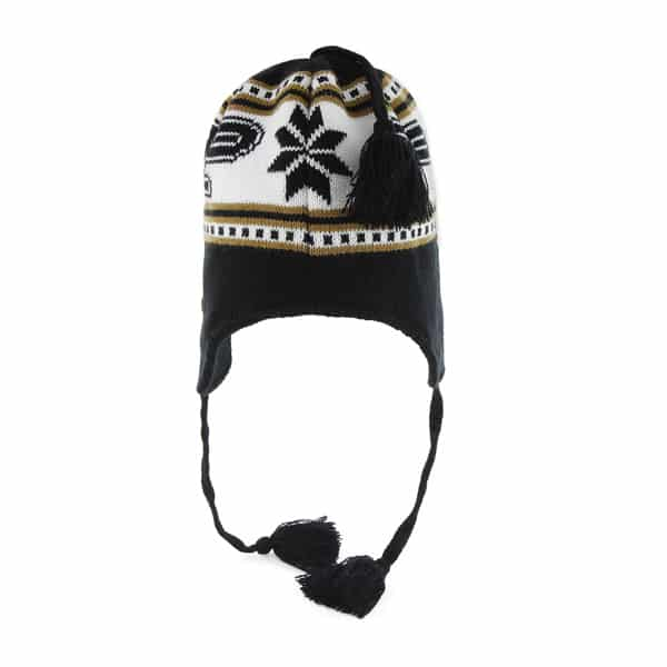 00a2c9560 Purdue Boilermakers Wampa Knit Black 47 Brand YOUTH Hat - Detroit Game Gear