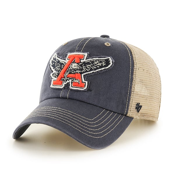 Auburn Tigers Montana Vintage Navy 47 Brand Adjustable Hat