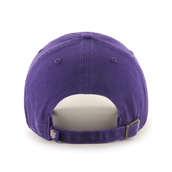 5e41866c0af4e5 Louisiana State Tigers Lsu Clean Up Purple 47 Brand Adjustable Hat -  Detroit Game Gear