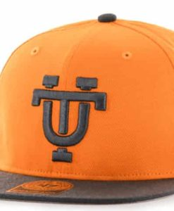 Tennessee Volunteers 47 Brand Vibrant Orange Sure Shot Two Tone Snapback Hat