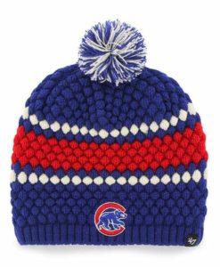 Chicago Cubs Women's 47 Brand Blue Leslie Beanie Hat
