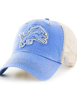 Detroit Lions Blue Raz Montana Kahki Mesh Adjustable Hat