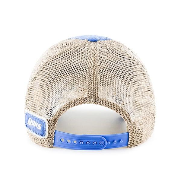 Detroit Lions Blue Raz Montana Kahki Mesh Adjustable Hat