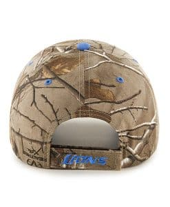 Detroit Lions Realtree Frost Adjustable Hat Back