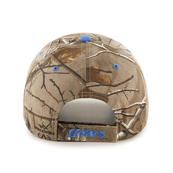 Detroit Lions Realtree Frost Adjustable Hat Back