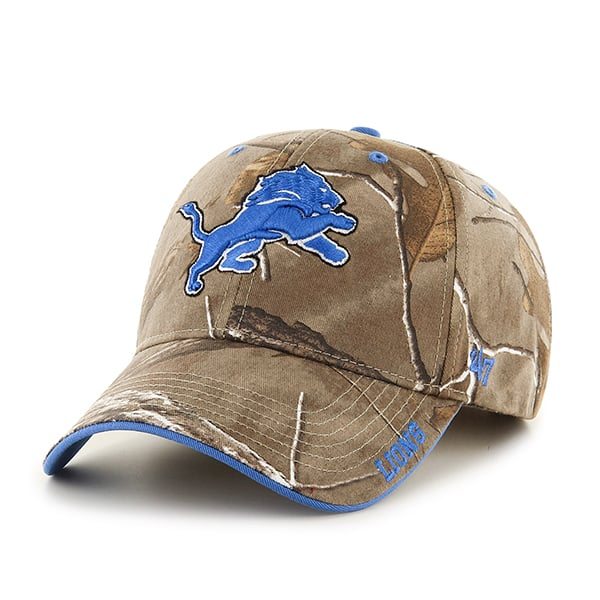 Detroit Lions Realtree Frost Adjustable Hat
