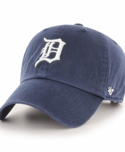 Detroit Tigers 47 Brand Home Navy Clean Up Adjustable Hat