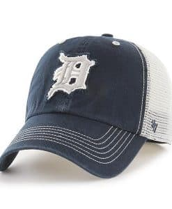 Detroit Tigers 47 Brand Taylor Closer Navy Stretch Fit Hat