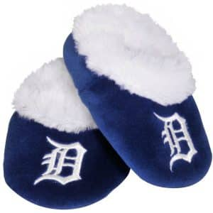 Detroit Tigers Baby Bootie Slippers Detroit Game Gear