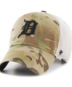 Detroit Tigers Sumner Camo Clean Up 47 Brand Adjustable Hat