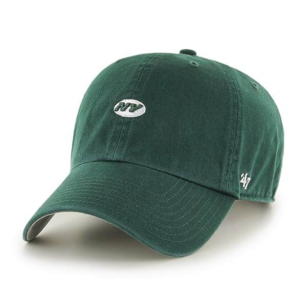 New York Jets Abate Clean Up Dark Green 47 Brand Adjustable Hat