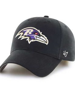 Baltimore Ravens Basic MVP Black 47 Brand KID Hat