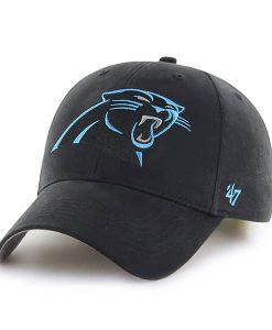 Carolina Panthers Basic MVP Black 47 Brand INFANT Hat