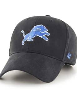 Detroit Lions Basic MVP Black 47 Brand KID Hat