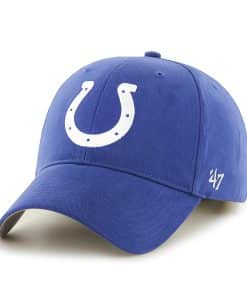 Indianapolis Colts Basic MVP Royal 47 Brand KID Hat