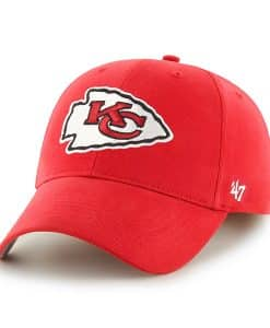 Kansas City Chiefs Basic MVP Torch Red 47 Brand KID Hat