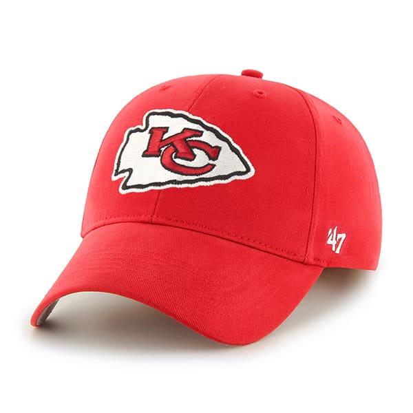 Kansas City Chiefs Basic MVP Torch Red 47 Brand KID Hat