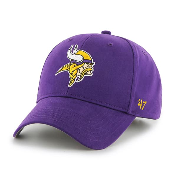 Minnesota Vikings Basic MVP Purple 47 Brand KID Hat