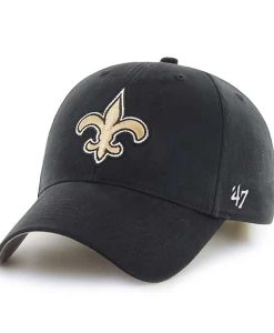 New Orleans Saints Basic MVP Black 47 Brand KID Hat