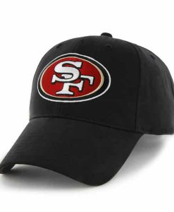 San Francisco 49Ers Basic MVP Black 47 Brand KID Hat