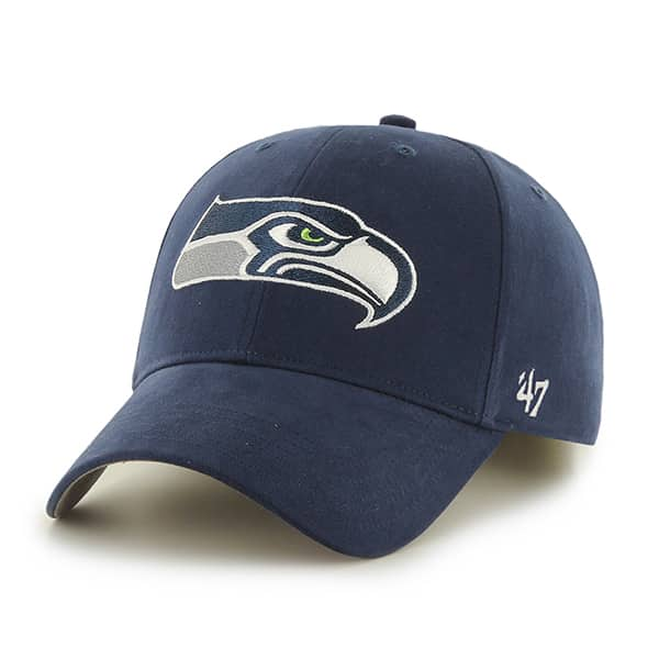 Seattle Seahawks Basic MVP Light Navy 47 Brand KID Hat