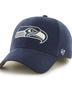 Seattle Seahawks Basic MVP Light Navy 47 Brand INFANT Hat
