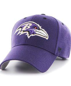 Baltimore Ravens Audible MVP Purple 47 Brand Adjustable Hat